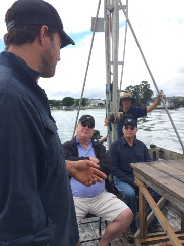 Ewen McAsh from Signature Oysters provides detailed account of how oysters are grown, harvested and sold to markets around the world