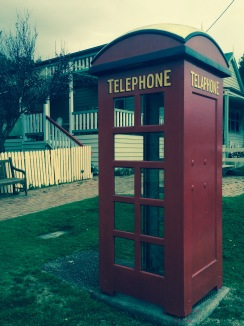 Working Phone Booth in Central Tilba