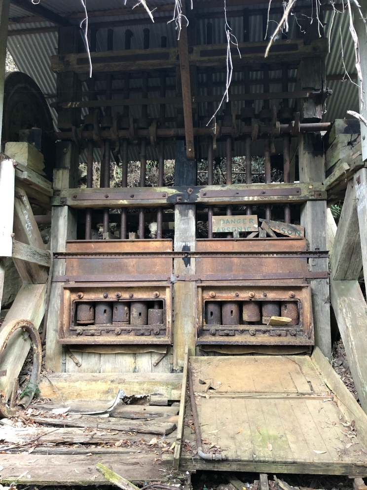 Historic ore crusher