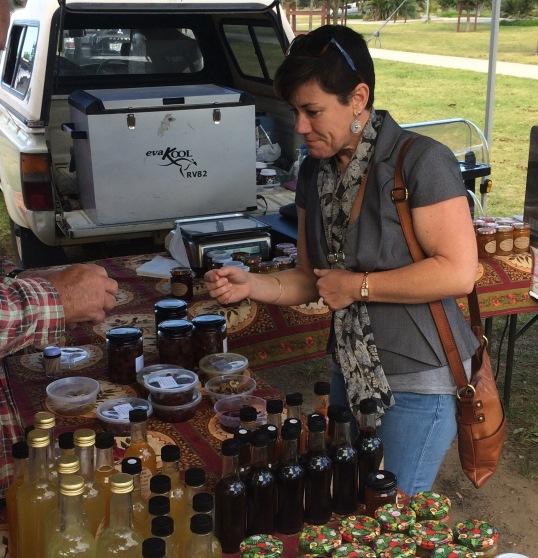 Taste local preserves